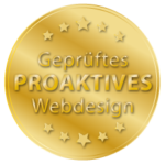 Website entspricht den Kriterien für proaktives Webdesign.